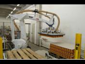 Robotizační technika - robotizace, paletizace a depaletizace, průmyslový roboti