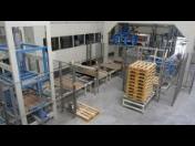 Manipulační linky a technologie - pro potravinářský průmysl