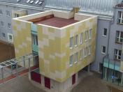 Zajištění tepelné izolace a větrané fasády pomocí obkladových desek