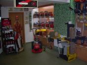 Prohlídky zahradní, lesní techniky - profesionální servis