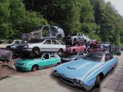 Kovošrot, ekologická likvidace autovraků, vozidel Vsetín