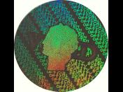 Bezpečnostné autodeštruktívne holografické samolepky