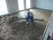 Cementové potěry Olomouc - pokládka hlazených cementových potěrů
