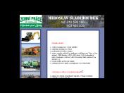 Odvoz demoličních a stavebních odpadů Mníšek pod Brdy