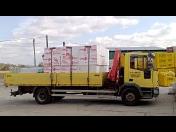 Stavebniny-doprava, rozvoz, odvoz stavebního materiálu