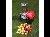 Ideální pomocník všech zahrádkářů a sadařů - elektrický drtič ovoce
