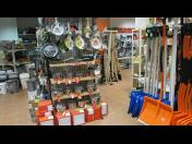 Prodej komunální, zahradní techniky a domácí potřeby
