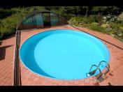 Bazén obdélníkový, kulatý i oválný vyrobíme z plastu na zakázku, Praha, Střední Čechy