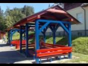 Výroba altánu, pergoly, krovu, zahradní nábytek z masívu i lamina