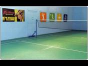 Badminton - dva profesionální badmintonové kurty, kvalitní zázemí