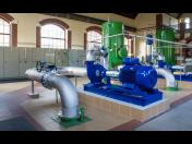 Čistírny odpadních vod, kanalizační čerpací stanice, úpravny vod, zařízení pro rozvod pitné vody