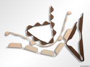 Profilové těsnění pro trapézové plechy, dotěsňovací špalíky, těsnící pásy, hranoly