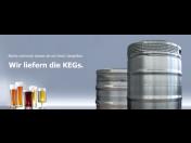 Údržba a servis nápojových KEG sudů v závodě Wilnsdorf Německo