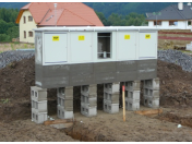 Betonové stavebnice, skříně pro plyn i elektro - Červený Kostelec