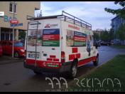 Reklamní polepy na auto Praha - fólie krátkodobé i střednědobé