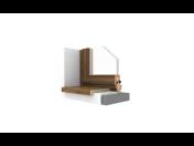 Distribuce venkovních a vnitřních okenních parapetů - online prodej, e-shop