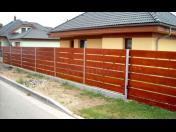 Kvalitní dřevěné ploty na klíč