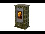 Litinová kamna na tuhá paliva a designové elektrické krby včetně příslušenství