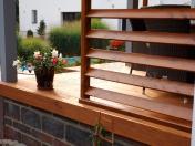 Dřevěné venkovní terasy z modřínového dřeva