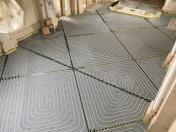 Montáž ústředního vytápění-stěnové, podlahové topení