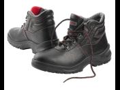 Kotníková pracovní obuv s ocelovou špičkou S1