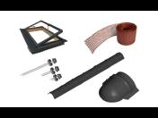 Střešní materiál, latě, desky i klempířské prvky - vše na jednom místě