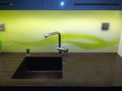 Obkladová skla, skleněné obklady kuchyňských linek | Nymburk