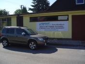 Výměna autoskel osobních i nákladních automobilů a stavebních strojů, Brandýs