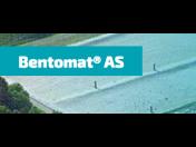 Bentonitová rohož Bentomat AS pro nepropustnost skládek i vodních nádrží
