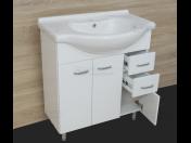 Koupelnová skříňka s keramickým umyvadlem Intedoor