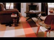 Marmoleum je přírodní designová podlaha - přírodní linoleum