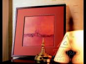 Rámování obrazů Praha – unikátní technologie tažení hliníkových lišt - rámovací systém NIELSEN
