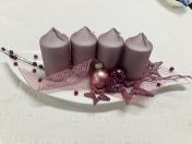 Adventní a vánoční věnce - překrásné vazby a dekorace na hřbitov nebo vánoční stůl