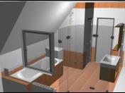 Grafické návrhy, vizualizace koupelen ve 3D | Nymburk