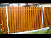 Dřevěné ploty na klíč - dřevěný plot jako designový doplněk Vašeho pozemku