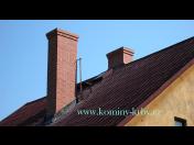 Kvalitní komíny - vložkování, revize, frézování, kontrola, stavba