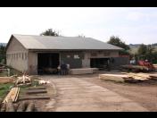 Povrchové úpravy, hoblování dřeva, impregnace řeziva na Pile Lubná