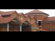 Střešní konstrukce, střechy - prováděné pokrývači a tesaři