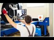 Seřízení geometrie kol - diagnostika, přední i zadní náprava