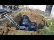 Vsakovací systémy, zasakovací trativody-levné řešení odvádění vody z pozemků