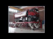 Dodávka, vybavenie pre autoservisy - mobilné stĺpové zdviháky pre traktory a stavebné stroje Stertil KONI