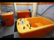 Vanové a vířivé koupele pro relaxaci a uvolnění svalů
