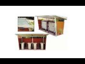 Přístřeší pro odpadové nádoby - výroba z kvalitních a lehkých materiálů