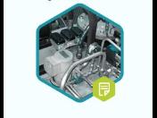 Hydraulické pohony strojírenských zařízení pro použití s vysokými silami