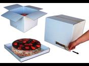Pevné krabice na velké a vícepatrové dorty s trhací páskou - prodejna i e-shop