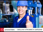 Operátor výrobního zařízení s praxí v hutním provoze - volná pracovní pozice