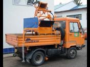 Nástavby na čištění kanalizací a fekální nástavby, sací-fekální nástavby