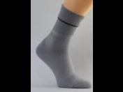 Antibakteriální ponožky se stříbrem vám urychlí kožní hojení