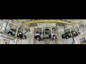 Warehouse conveyor technology, suspended transportation systems, the Czech Republic, Zlín Region