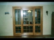 Truhlářství, výroba dřevěných interiérových a vchodových dveří, zárubní